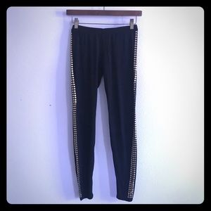 Tart size small modal leggings with gold accent